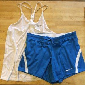 Nike tank/shorts